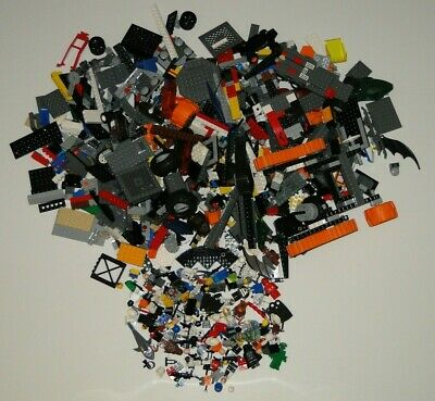 5.5 POUNDS OF LEGOS Bulk lot Bricks Parts People Pieces Wheels Star Wars & More