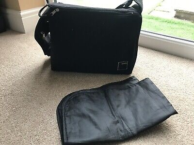 Black Icandy Changing Bag And Mat