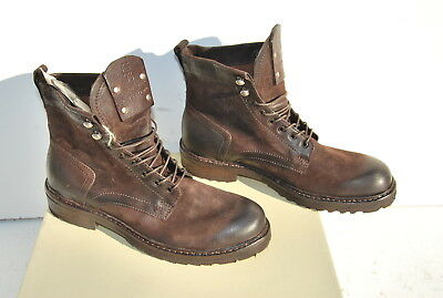 6 - Bottes Boots Homme Airstep A.s.98 As98 Choco Tdm Pointure 43 Neuves