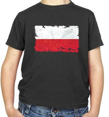 Poland Flag Kids T-Shirt - Warsaw - Europe - Republic - Country - Travel - Flags