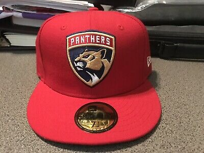 new style a3972 c4f84 Florida Panthers fitted New Era hat size 7 1 2 cap NHL National Hockey  League