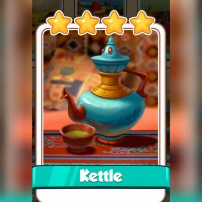 Coin Master Card *** Kettle *** Fast Delivery