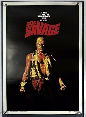 DOC SAVAGE Movie Poster (Fine+) Commercial Poster 1967 19 1/2x 27 1/2 01