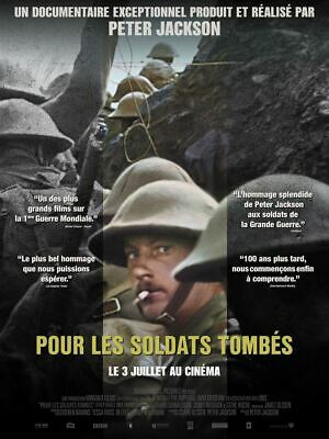 Pour les Soldats Tombés  - Affiche cinema 40X60 - 120x160 MOVIE Poster