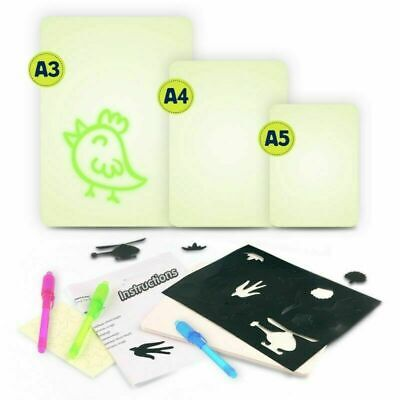 Draw With Light Fun And Developing Toy Drawing Board Magic Draw Education T7Z5M
