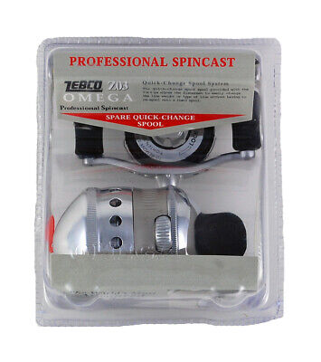 Zebco Omega Professional Spincast Z03 2.9:1 Clam Pack 21-32915