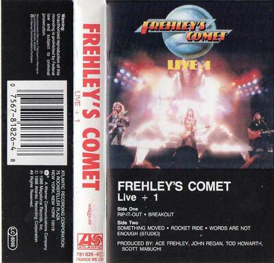 Frehley's Comet, LIve + 1 RARE EUROPEAN tape  (Ace Frehley Kiss)