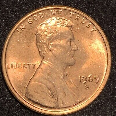 1969-S Lincoln Cent Double Die Obverse * Extremely * Scarce Ms Gem ** 69 S Ddo *