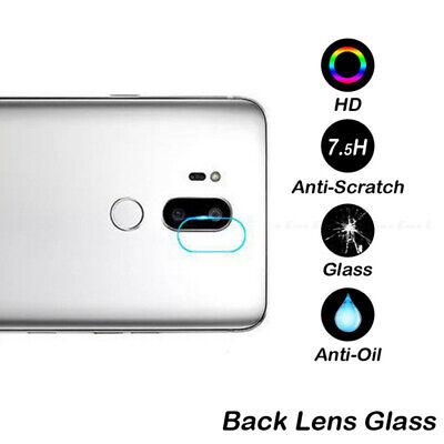 For LG G7  9H Clear HD Back Rear Camera Lens Tempered Glass Film Protector Cover