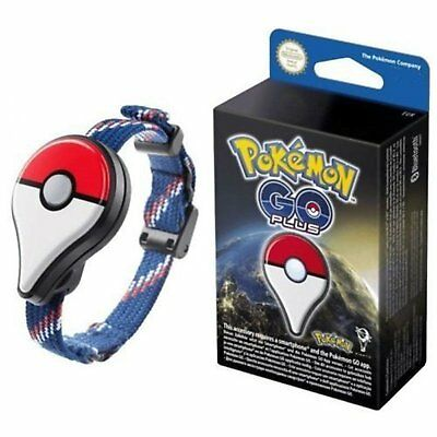 Pokemon Nintendo Go Plus Bluetooth Wristband Bracelet Watch Game Accessory
