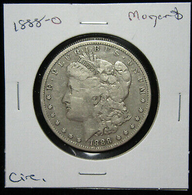 1888-O $1 Morgan Dollar. Circulated. 90% silver. (619121)
