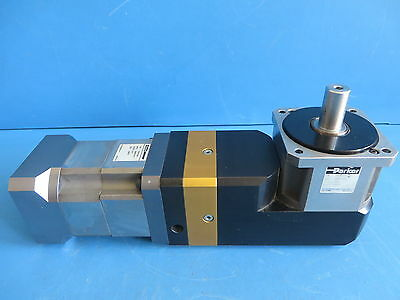 Parker RX90-10-S2 Right Angle Gearhead Ratio 10:1 w/ PX34-030 Reducer 30:1