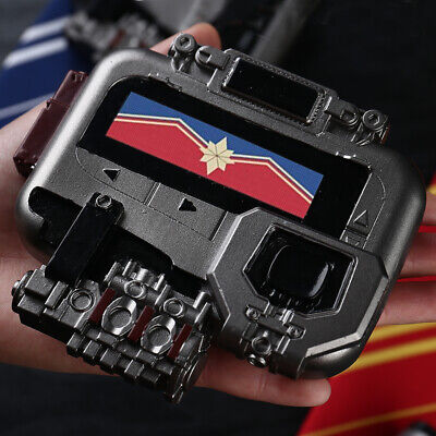 NEW Avengers Endgame Captain Marvel Cosplay Pager PVC Beeper Props Collection