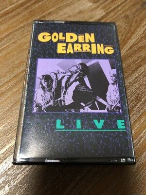 LIVE - Golden Earring - Cassette MC Tape