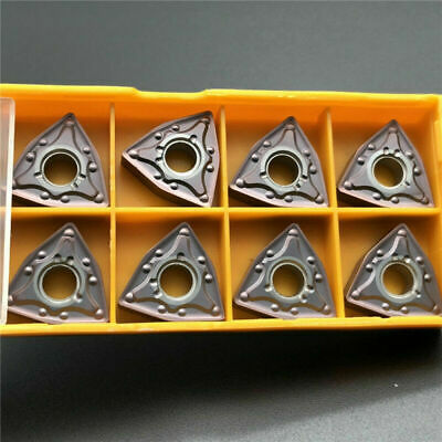 10* WNMG080408-MA VP15TF Carbide Turning Insert Milling CNC End Mill Durable Set