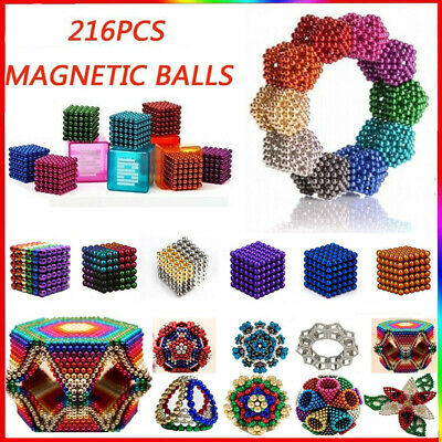 216X 3/5mm Mini Spherical Magnet DIY Ball Ideal for Household Decorative Purpos
