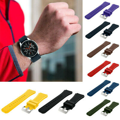 Soft Silicone Watch Band Replacement Band Strap For Samsung Galaxy Watch Fancy