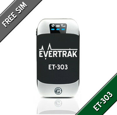 ET303 GPS Tracker Package. Water Resistant Car & Vehicle Tracking GPS 303
