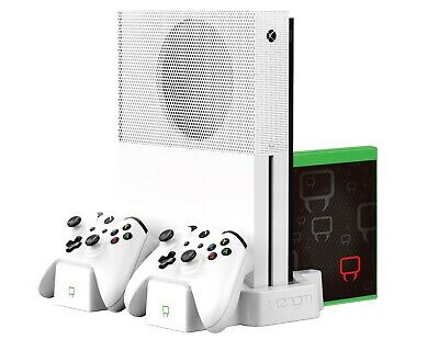 Venom Xbox One S Vertical Charging Stand and Rechargeable Battery Twin Pack