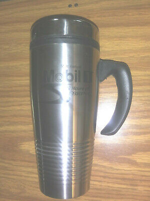 55th ANNUAL MOBIL 1 12 HOURS OF SEBRING FOUR POINTS BY SHERATON STAINLESS MUG
