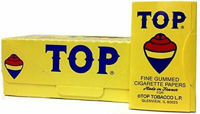 TOP Cigarette Rolling Papers 24 Booklet, 100 Leaves in Each Book~ NEW & SEALED