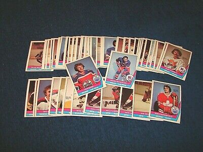 1977-78 O-Pee-Chee Wha Hockey Lot Of 59 Cards Nrmt To Mint (18-25)