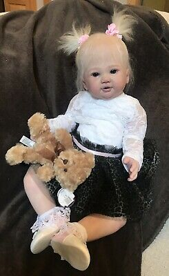 Reborn Baby ROMEE by SANDY FABER TODDLER Girl By Distinctive Reborns W /COA!