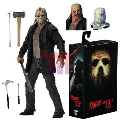 new Friday the 13th 2009 Movie Jason Voorhees Ultimate Action Figure toy Boxed