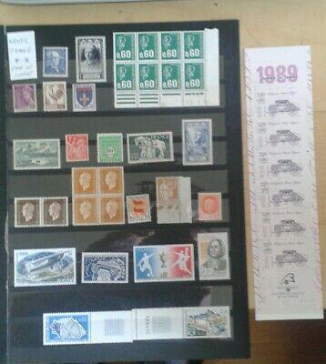 lot timbres france neufs