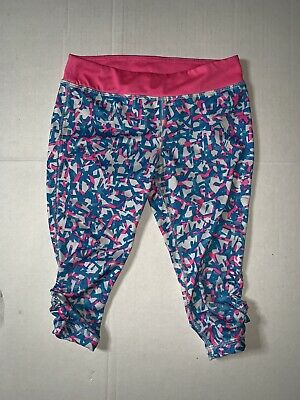 Preowned- Nike Performance Cropped Leggings Girls (Size 6X)