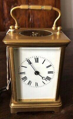 Antique French Striking Carriage Clock Working