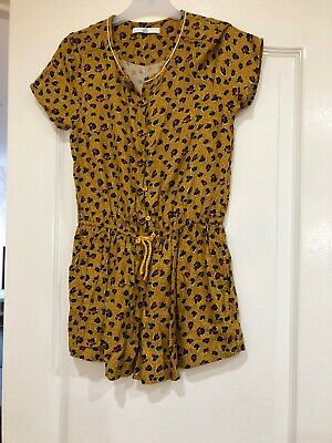 Marks And Spencer Girls Playsuit Age 10-11