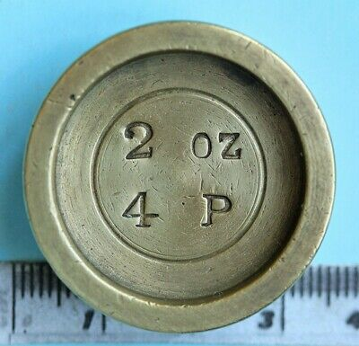Victorian postal weight, 2oz/4P