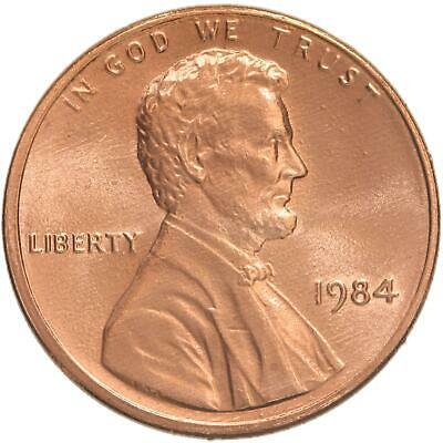 1984 Lincoln Memorial Cent Gem BU Penny US Coin