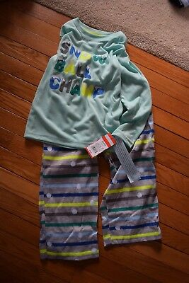 Boys/' Cat in The Hat Thing 1 and Thing 2 Double Trouble Pajama Set NWT