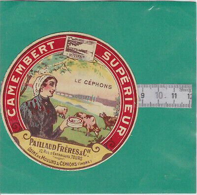 M508  Fromage Camembert Paillaud Freres Cephons Indre 10 Rue D Entraigues Tours