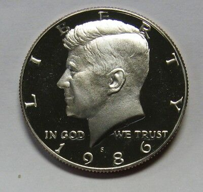 Clad 2003 S Proof John Kennedy Half Dollar Ultra Deep Cameo Combined Shipping