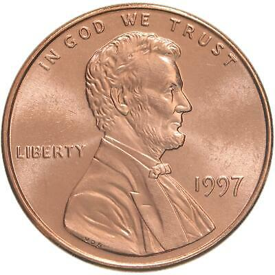 1997 Lincoln Memorial Cent Gem BU Penny US Coin