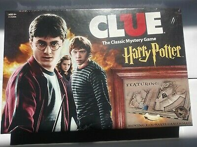NEW Sealed CLUE Harry Potter The Classic Mystery Board Game
