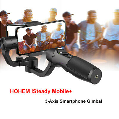 Hohem iSteady 3-Axis Mobile Gimbal Stabilizer Time Lapse for iPhone 7 7Plus XR