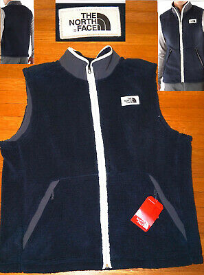 0374d58dc THE NORTH FACE Campshire Vest Sherpa Fleece Weathered Black Khaki ...
