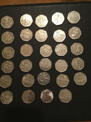 50p - Olympic coins 2012 - Fifty pence - all coins have been circulated