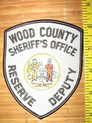 😎😎 WOOD County West Virginia Sheriff Shoulder Patch Home