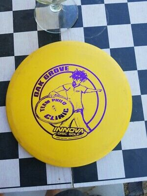 Innova Roc Very Hard to Find Stamp Team Philo Oak Grove Collector No Reserve