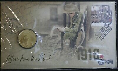 "2016 $1 PNC ""Letters from the Front"""