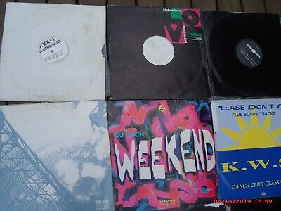 13 Dance, Disco Funky ??? Lp's, 45 & 33 Rpm, All In V/G Cond, Some Covers Marked
