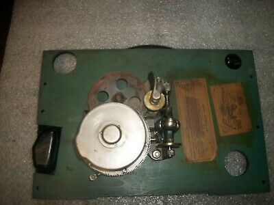 Victor Victrola Suitcase Model 2-60 On Board***motor Rebuilt***