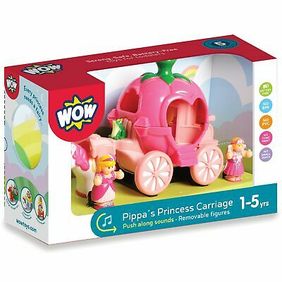 WOW Toys Pippa/'s Princess Carriage Playset Toddlers//Kids 18M+