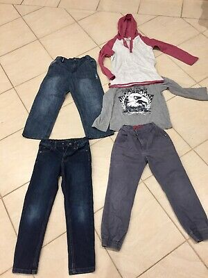 Boys jeans/tops winter bundle. Size 6. Great condition