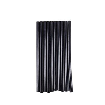 10PCS Hot Melt Glue Adhesive Sticks 150x7mm Black S8I5